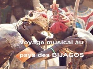 cd voyage au pays des Bijagos musiques de jean pascal vielfaure
